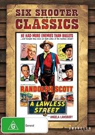 A Lawless Street (Six Shooter Classics) on DVD