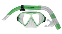 Mirage: S19 Freedom - Adult Mask & Snorkel Set (Green)