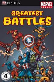 """Marvel Heroes"" Greatest Battles: Level 4 by Matthew K Manning image"