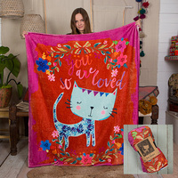 Natural Life: Cozy Blanket - Cat