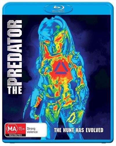 The Predator (2018) on Blu-ray image