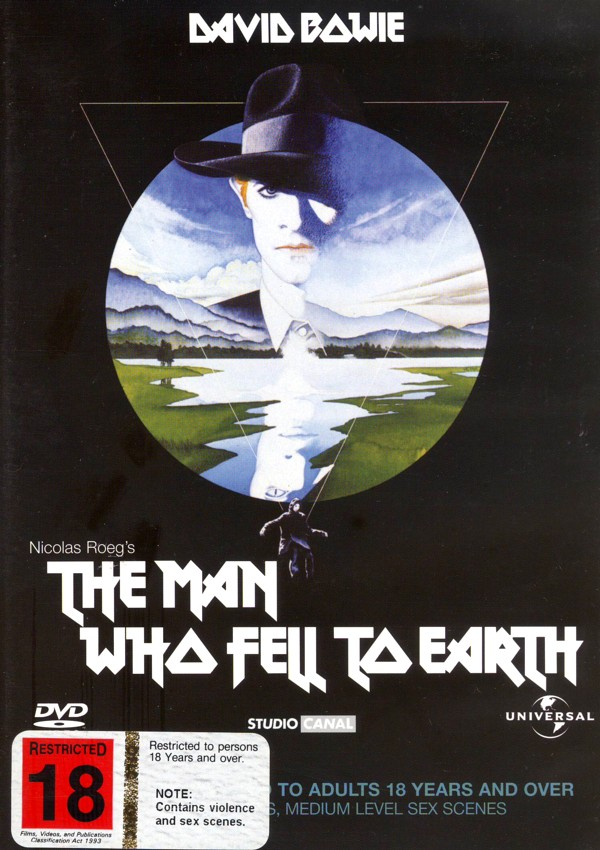 The Man Who Fell to Earth on DVD image