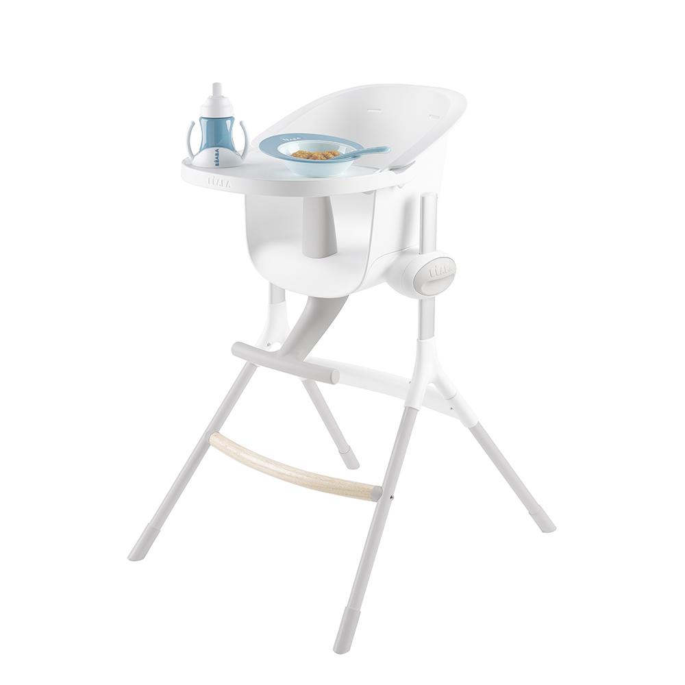 Beaba: Up & Down High Chair Grey/White image