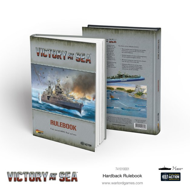 Victory at Sea: Rulebooks