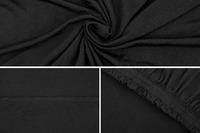Ovela: 4 Seater Sofa Cover Stretch - Black