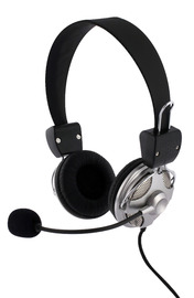 Laser Deluxe headset -with microphone & volume  control image