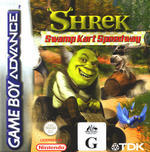 Shrek Swamp Kart Speedway for Game Boy Advance