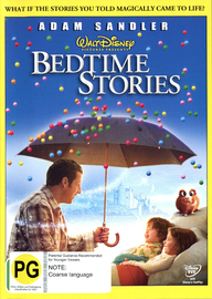 Bedtime Stories on DVD