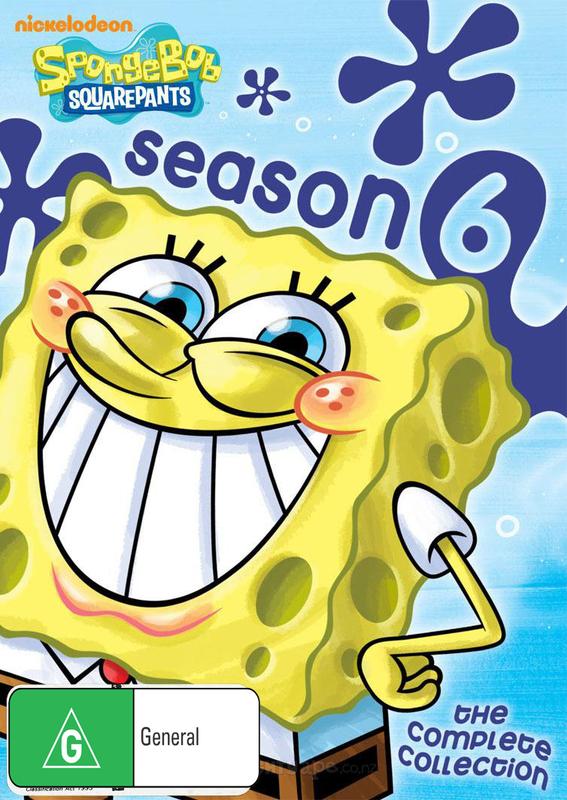 SpongeBob Squarepants: Complete Season 6 (4 Disc Set) on DVD