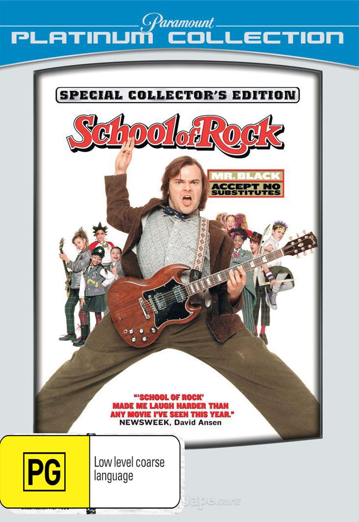 School of Rock (Platinum Edition) on DVD image