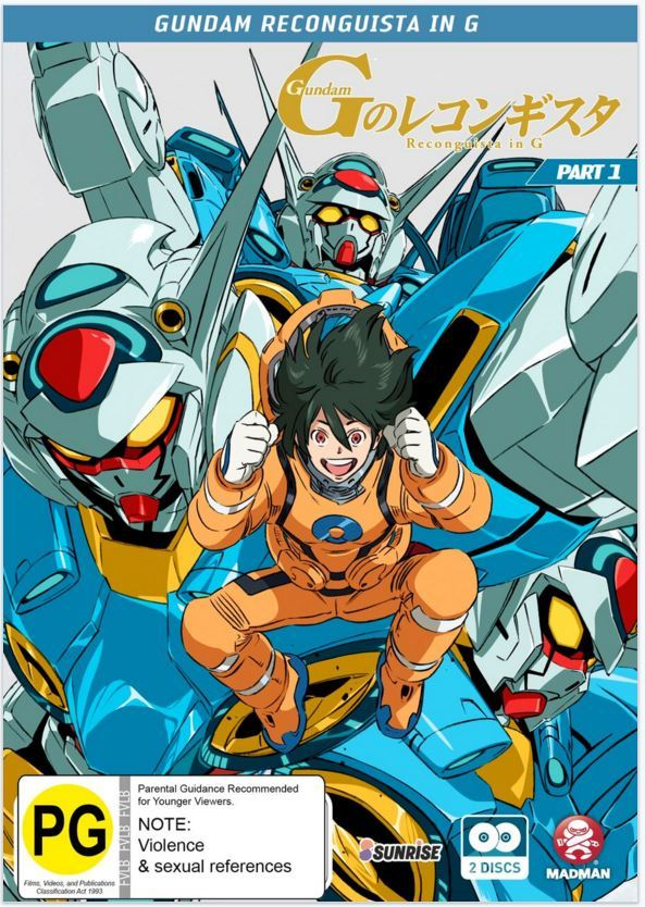 Gundam Reconguista In G - Part 1 (eps 1-13) (Subtitled Edition) on DVD image
