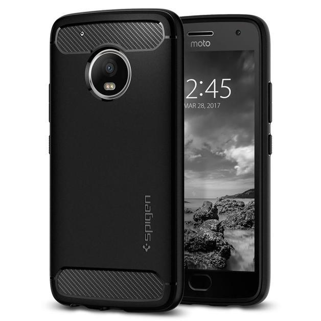 Spigen: Motorola Moto G5 Plus - Rugged Armour Case (Black)