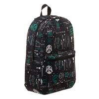 Harry Potter: Slytherin Icon Print Backpack