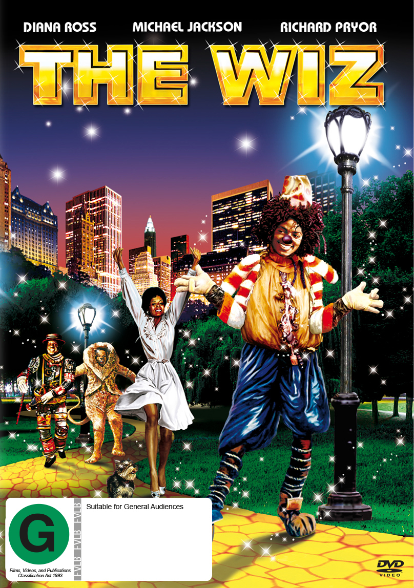 The Wiz on DVD image