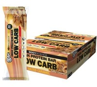 BSc High Protein Low Carb Bar - Salted Caramel (8x60g)