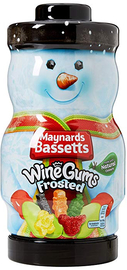 Bassetts Wine Gums Frosted Character Jar (495g)