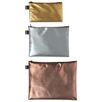 LOQI: Zip Pocket - Metallic Matt (Set of 3) image