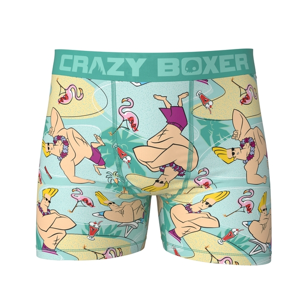Crazy Boxer: Johnny Bravo Boxers - Ex Large