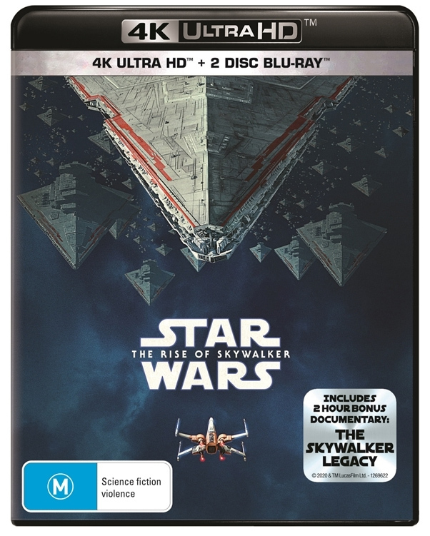 Star Wars: The Rise of Skywalker on UHD Blu-ray image