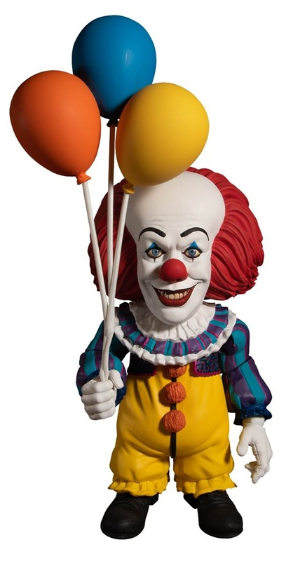 """It (1990): Pennywise - 6"""" Deluxe Designer Figure"""