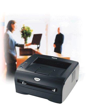 Brother HL2070N Laser Printer 20ppm Black 2400x600 16MB A4 USB 2 Parallel Ethernet image