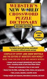 Webster's New World Crossword Puzzle Dictionary by Jane Shaw Whitfield image