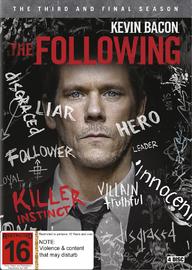 The Following - Season 3 on DVD