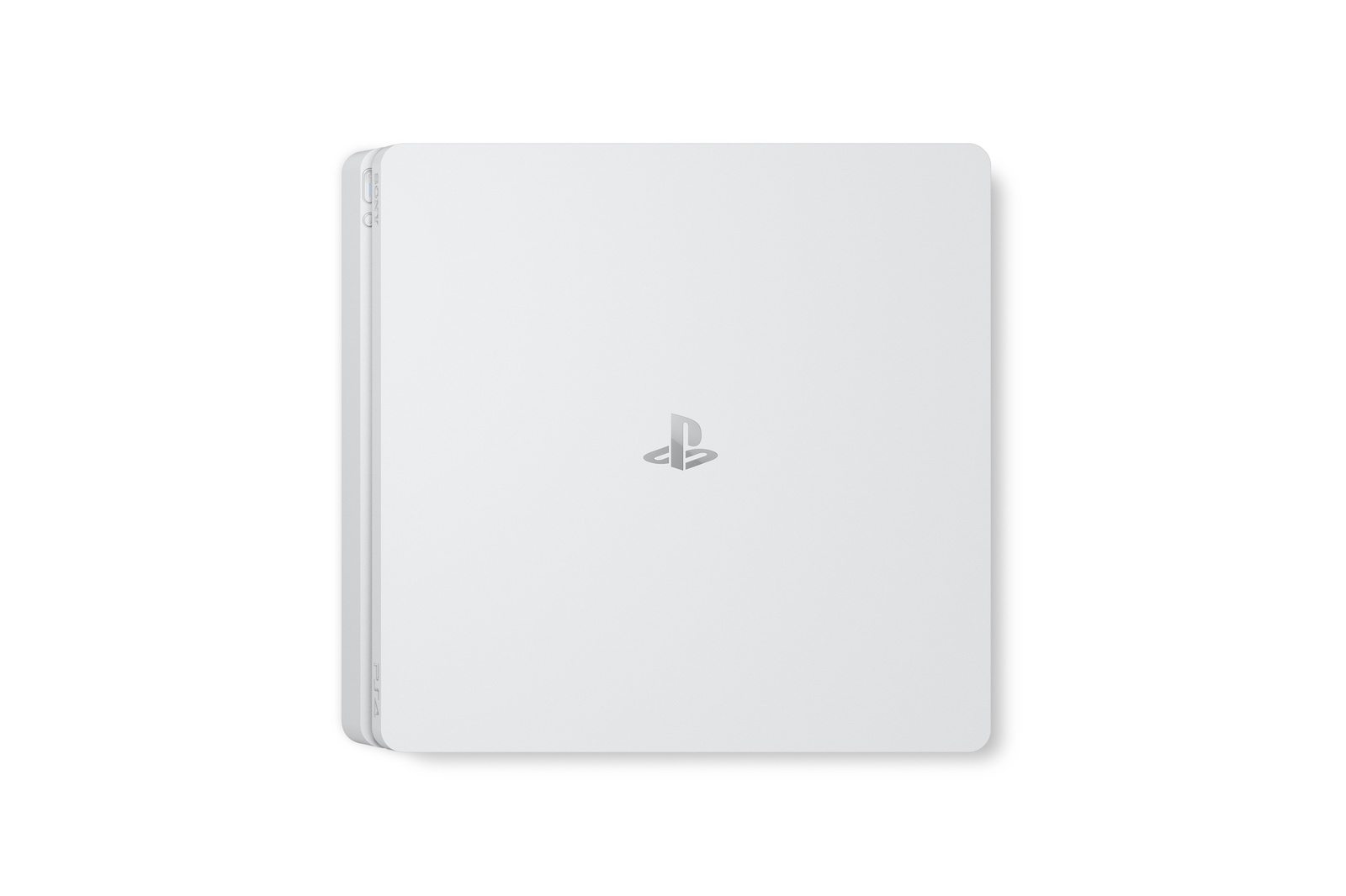 Ps4 Slim 500gb Console White Buy Now At Mighty Ape Nz Stik New Model Glacier For Image