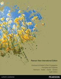 Hartmann & Kester's Plant Propagation: Pearson New International Edition by Hudson T. Hartmann