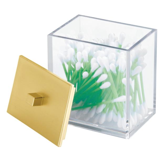 Clarity Bathroom Canister