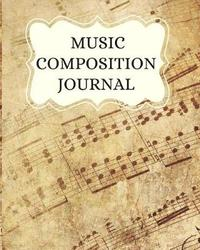 Music Composition Journal by Notebooks For All
