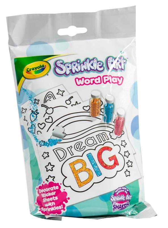 Crayola: Sprinkle Art Activity Kit - Word Play