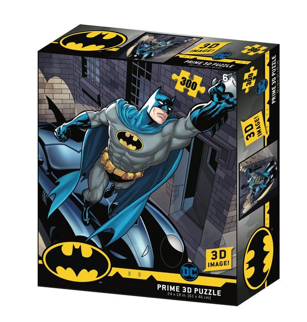 Super 3D: 300pc DC Comic Puzzle - Batman Grappling