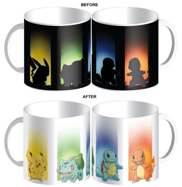 Pokemon: Heat Changing Mug - Pikachu & Friends