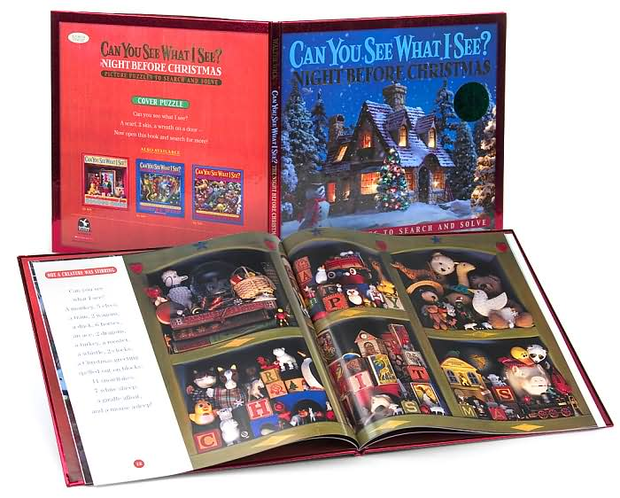 Can You See What I See? The Night Before Christmas: Picture Puzzles to ...