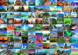 Ravensburger 99 Most Beautiful Places Puzzle (1000pc)