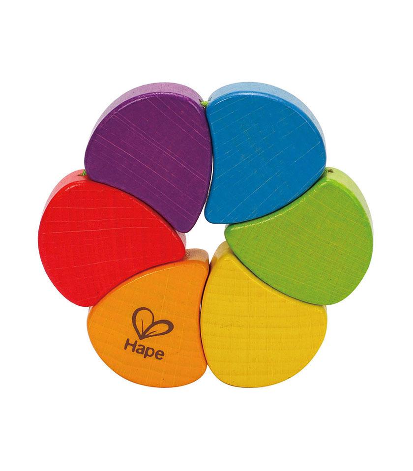 Hape: Rainbow Rattle image