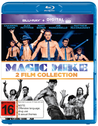 Magic Mike 1 and 2 on Blu-ray