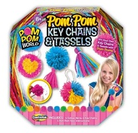 Creative Kids: Pom Pom Key Chains & Tassels image