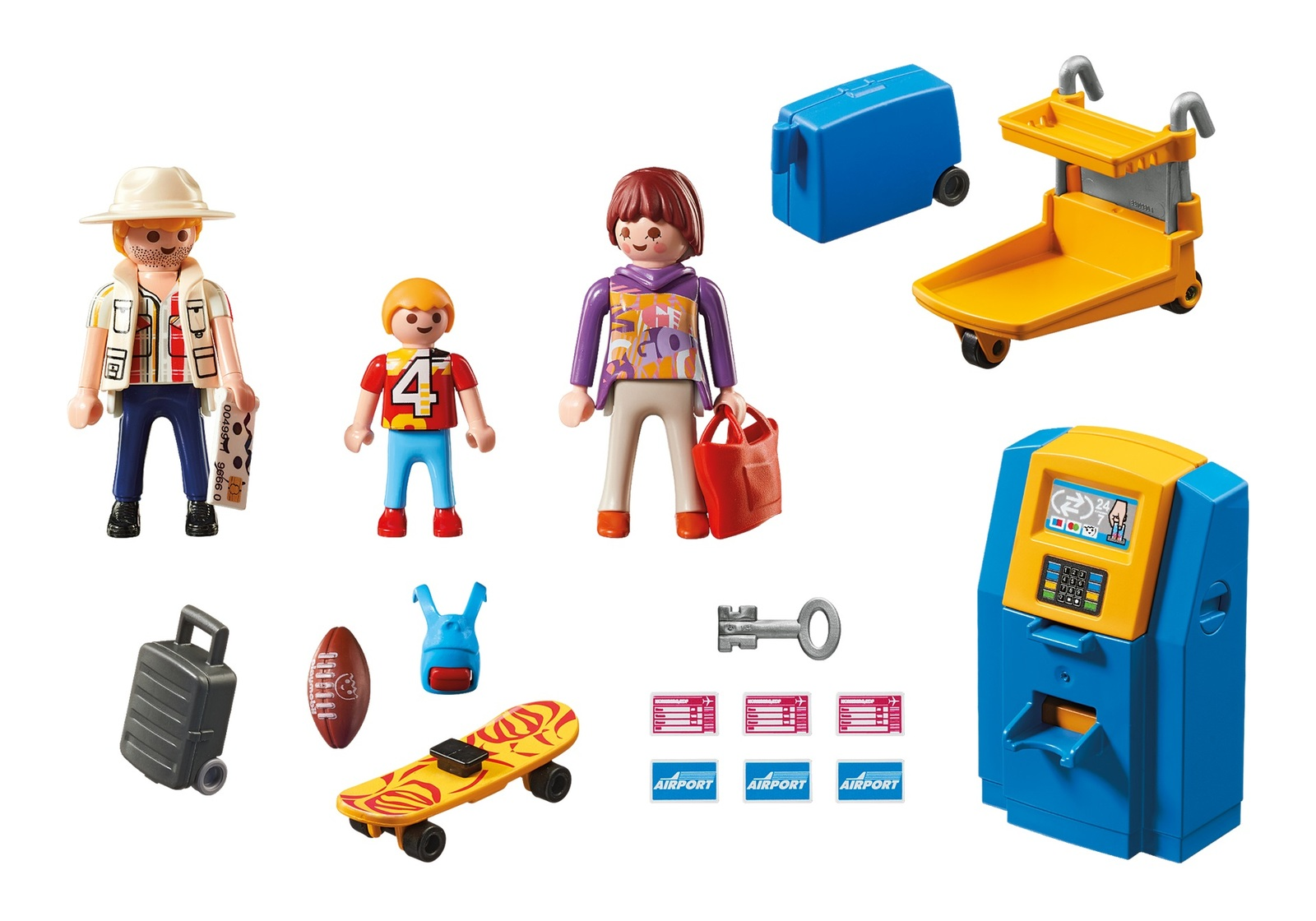 Playmobil: City Action - Airport Family at Check In image