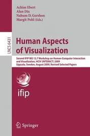 Human Aspects of Visualization