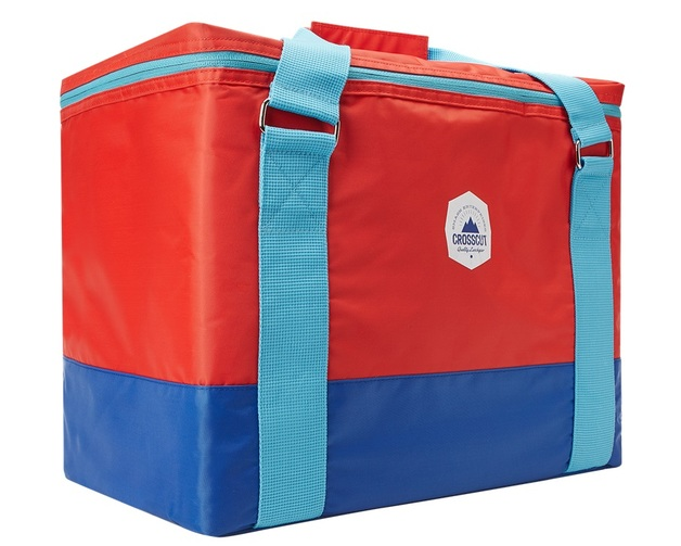 Smash: Crosscut Cooler Bag - Red/Blue (30L)