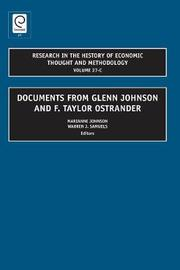 Documents from Glenn Johnson and F. Taylor Ostrander image