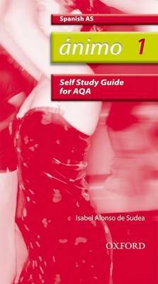 Animo: 1: AS AQA Self-study Guide with CD-ROM by Isabel Alonso De Sudea image