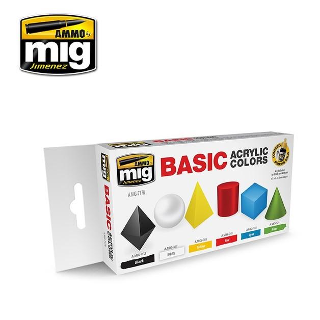 Ammo of Mig Jimenez - Basic Acrylic Colours