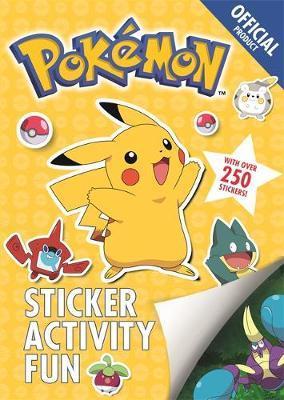 The Official Pokemon Sticker Activity Fun by Pokemon