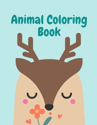 Animal Coloring Book by Harry Blackice