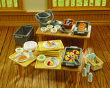 Sylvanian Families: School Dinner Set
