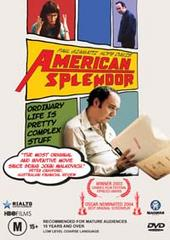 American Splendor on DVD