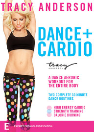 Tracy Anderson: Dance + Cardio on DVD